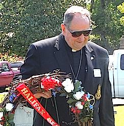 Rev Duncan Jones, Halifax Resolves Chapter, North Carolina SAR