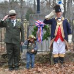 Superintendent John Slaughter, Jr Ranger Landen, and PG Mick Tomme