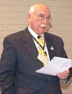 Mr. Robert (Bob) Lamar Owens - Chapter President, LTC Felix Walker