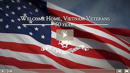 The Mecklenburg chapter 50th Anniversary Vietnam War tribute video from September 17, 2015.