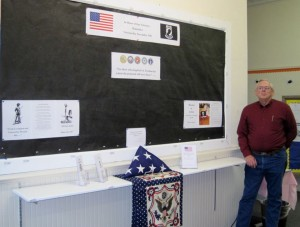 Halifax County Library Veterans Day Display