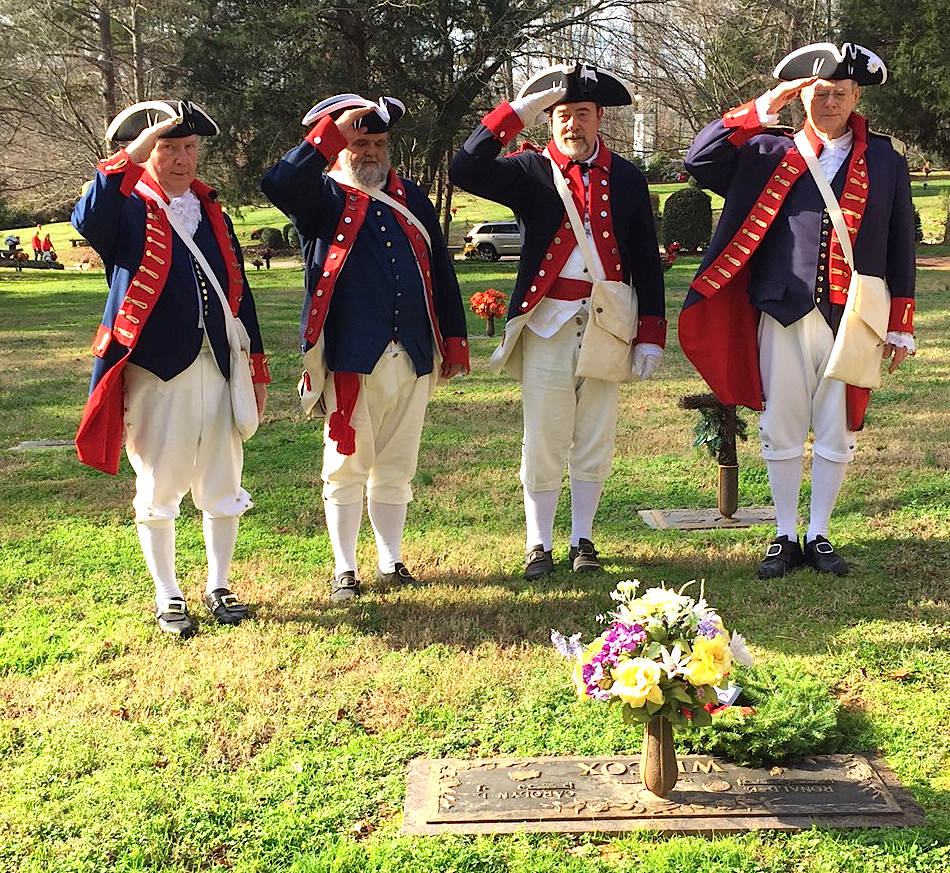 Join the Mecklenburg chapter for Wreaths Across America on December 17 2016 at Forest Lawn East Cemetery in Matthews.