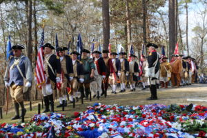 Color Guard at Kettle Creek