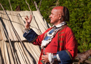 See Revolutionary War Cherokee Chief Attakullakulla on September 14 2017 in Charlotte with the Mecklenburg SAR.