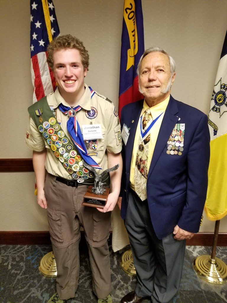This image has an empty alt attribute; its file name is SAR-Eagle-Scout-2018-Scholarship-Jonathan-Goforth-April-2019-768x1024.jpg