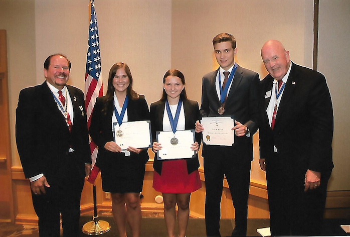 SAR Rumbaugh national contestants at SAR congress in California on July 10 2019